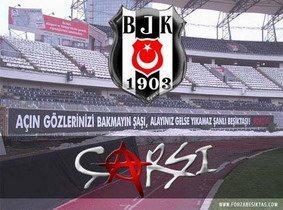 Beşiktaş Çarşı'sı...
