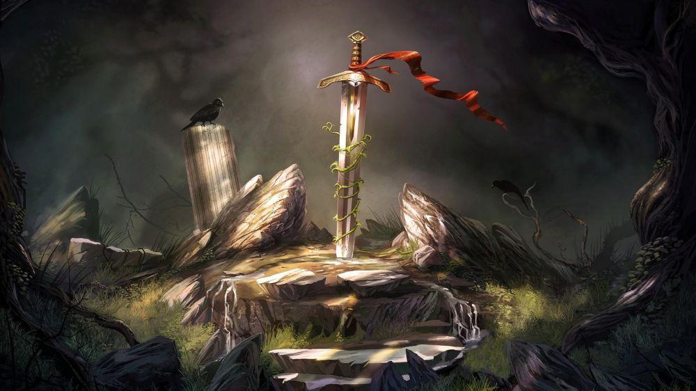 Excalibur'u Çektim Taştan, Merlin'i Çıkardım Baştan