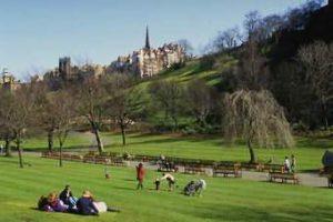 İskoçya'ya Giderken