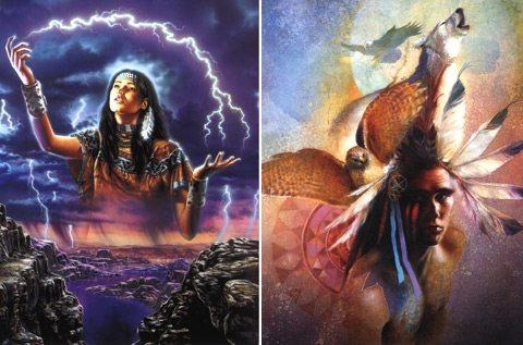 Kızılderili Astrolojisi'nde Şifa Çemberi