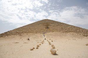 Kızıl Piramit'in Dış Görünüşü
