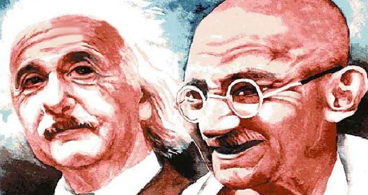Einstein ile Gandhi Buluştuğunda…
