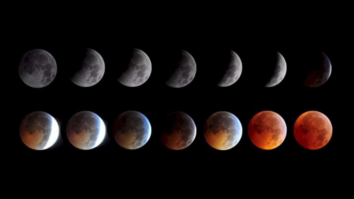 10 Ocak Yengeç'te Ay Tutulması