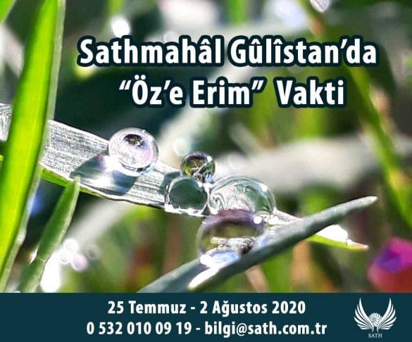 Öz'e Erim / Atölye ve İnziva -