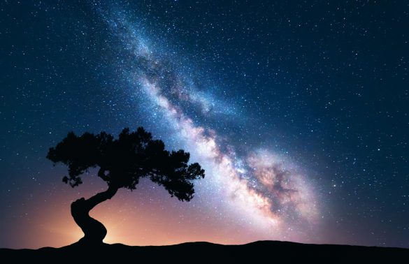 aralık ayında gökyüzü rengarenk